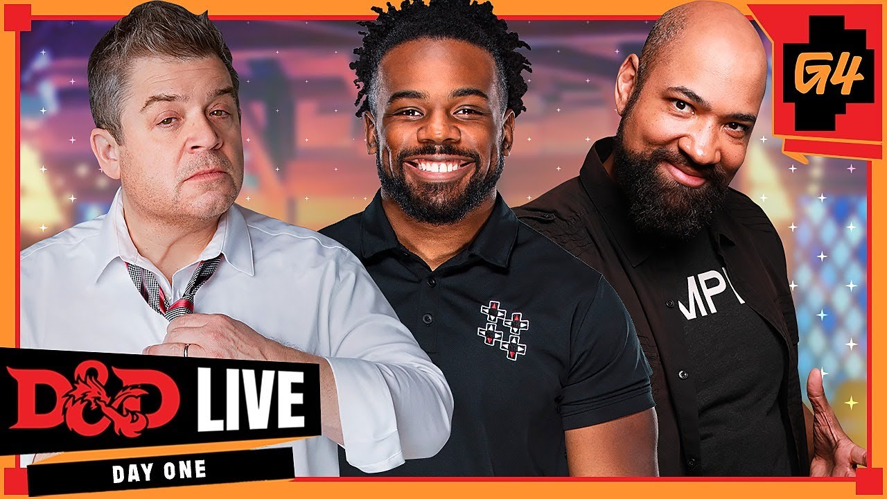 Download D&D Live 2021 Day One, Presented by G4