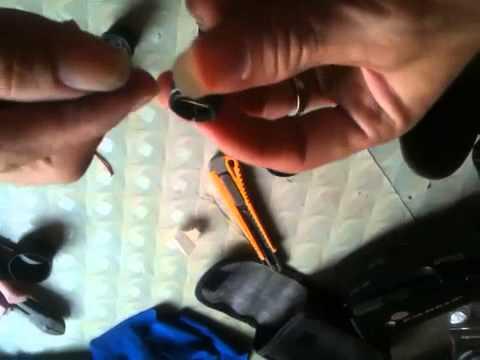 Hướng dẫn chế ống nhòm thành ống ngắm súng hơi có tâm điểm