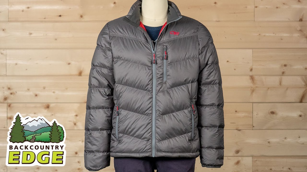 8a1814ea8 Outdoor Research Men s Transcendent Down Jacket - YouTube