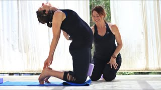 25 minute Prenatal Yoga With Fightmaster Yoga