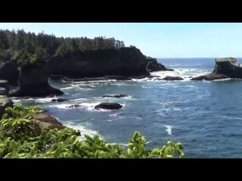 The Northwesternmost and WNW-most Points of the Contiguous U.S. (Cape Flattery, Washington)