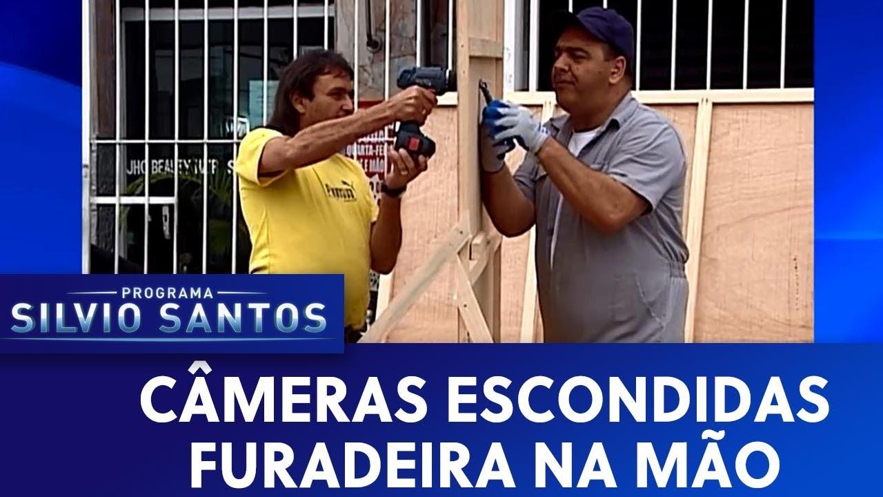Furadeira na mão  | Câmeras Escondidas (02/08/19)