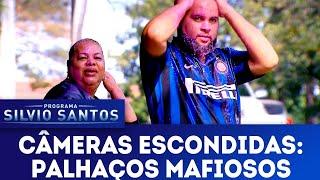 Palhaços Mafiosos - Mafia Clowns Prank   Câmeras Escondidas (22/07/18)