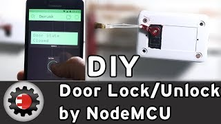 Door Lock-Unlock by NodeMCU