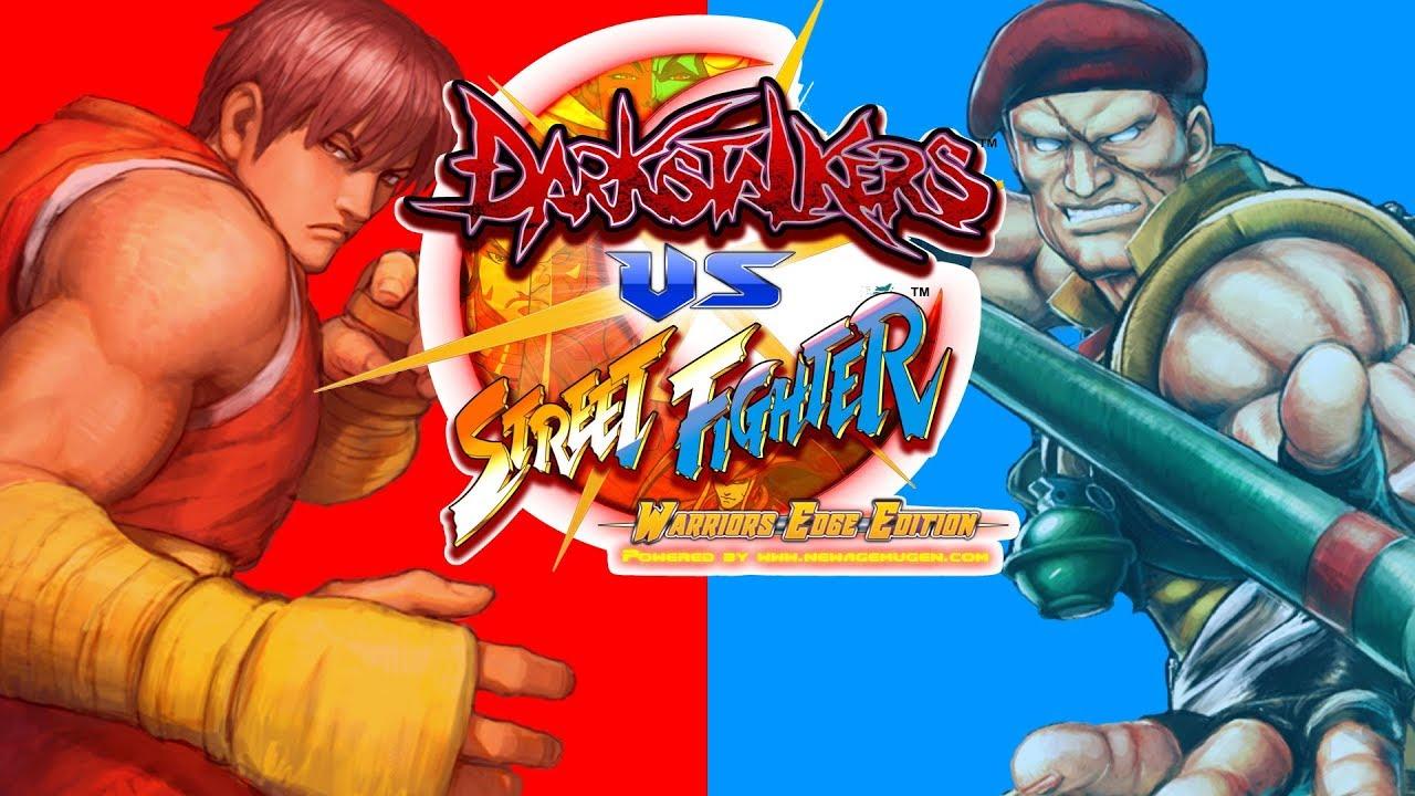 Darkstalkes vs Street Fighter M U G E N: Swagga Kings vs ACSlaterIsDead pt 3