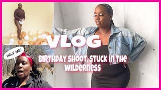 LIT VLOG + learning how to twerk + birthday shoot + family time