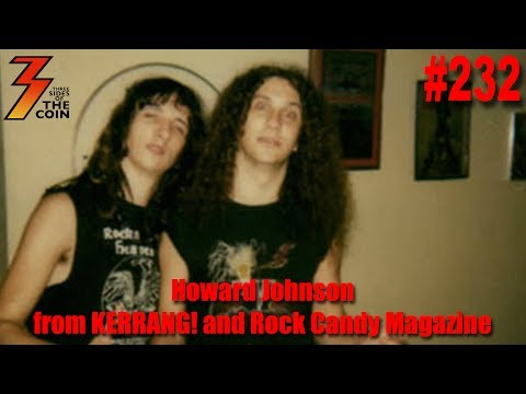 Ep. 232 Howard Johnson from KERRANG! & Rock Candy Magazine Share KISS Stories
