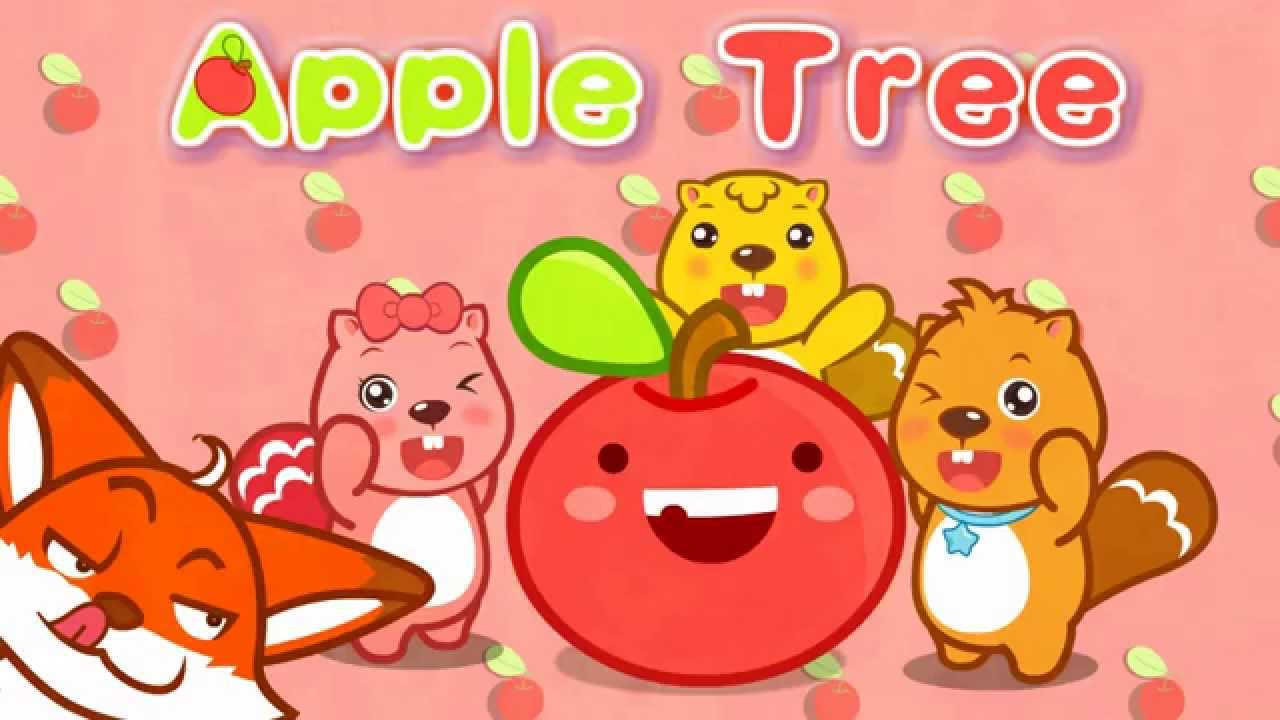 Apple Tree|英文歌|卡通動畫|貝瓦兒歌|BEVA - YouTube