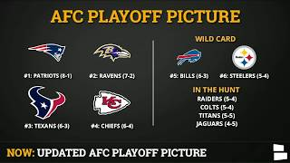 Raiders 2019 Playoffs? AFC Playoff Picture After NFL Week 10, Oakland's AFC West & Wild Card Chances
