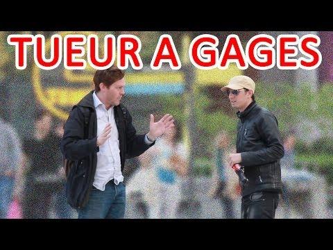Tueur à gages dans Paris | Hitman Prank