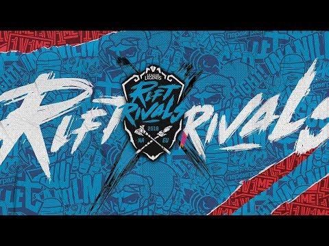 TL vs. FNC - Rift Rivals | NA x EU  | Team Liquid vs. Fnatic (2018)