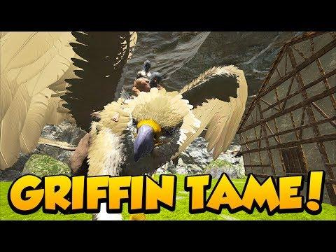MY FIRST GRIFFIN TAME on RAGNAROK!- Ark Survival Evolved Primitive+ Modded PVE on Ragnarok #1