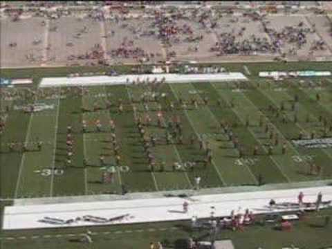 University of New Mexico Spirit Marching Band Pregame
