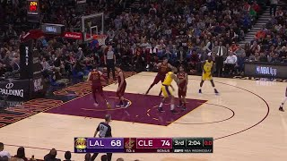 3rd Quarter, One Box Video: Cleveland Cavaliers vs. Los Angeles Lakers