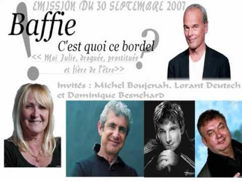 Saison 1, émission [4] avec Michel Boujenah, Lorant Deutsch et Dominique Besnehard