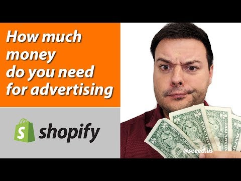 How much money do you need to invest on advertising for your business