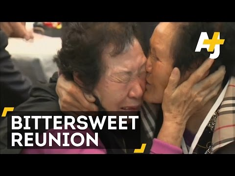 North And South Korean Families Reunite 60+ Years After The War