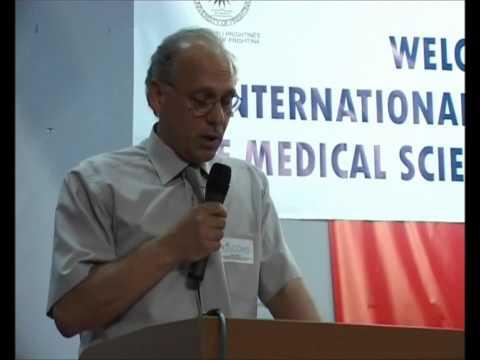 Qazim Hyseni, Faculty of Medicine, UP, Dean,  KISCOMS I / KOSOVO 2008.wmv