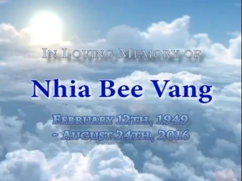 In Memory of Nhia Bee Vang