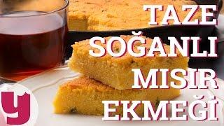 Taze Soğanlı Mısır Ekmeği (Mutlulukla İlgisi Olmalı!) | Yemek.com