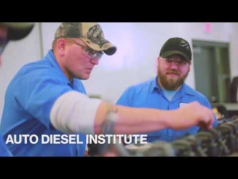 Auto/diesel technicians help drive the world.