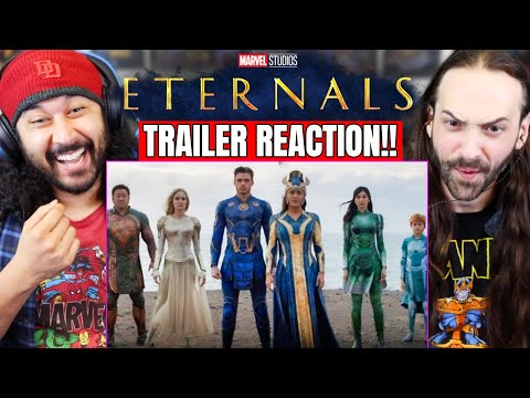 ETERNALS TRAILER REACTION!! (Marvel Studios' Official Teaser | Breakdown)