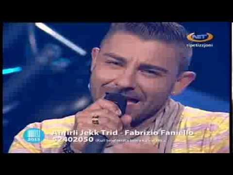 Indifest 2013 - Aħfirli Jekk Trid - Fabrizio Faniello
