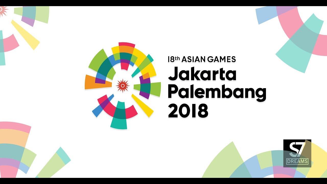 Asian Games  Jakarta Palembang Logo Vector