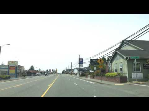 Driving thru Brookings Oregon