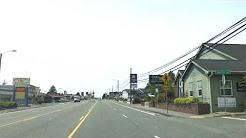 Driving thru Brookings Oregon