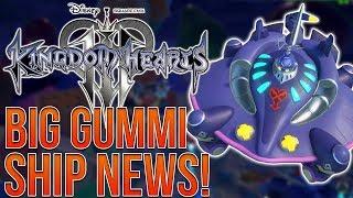 KINGDOM HEARTS 3 - BIG GUMMI SHIP NEWS! Open World, Customization, Big Battles!