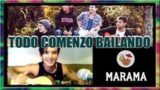 MARAMA - TODO COMENZÓ BAILANDO (Tutorial Acústico Guitarra Acordes Cover) ◄RASTALEX!