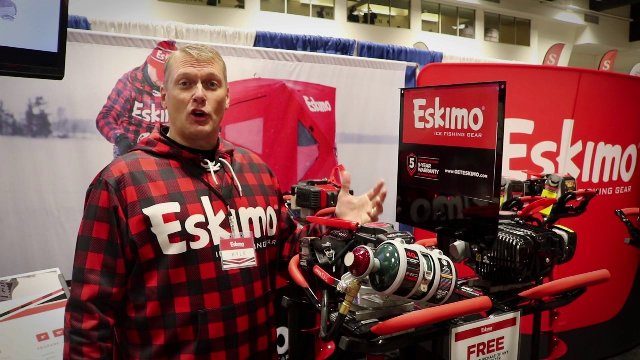 Eskimo ice augers 5-year warranty