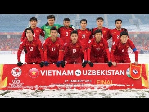 newest fcfb6 6121a VIETNAM 🇻🇳 NATIONAL FOOTBALL TEAM IN U-23 CHAMPIONSHIPS FINALS