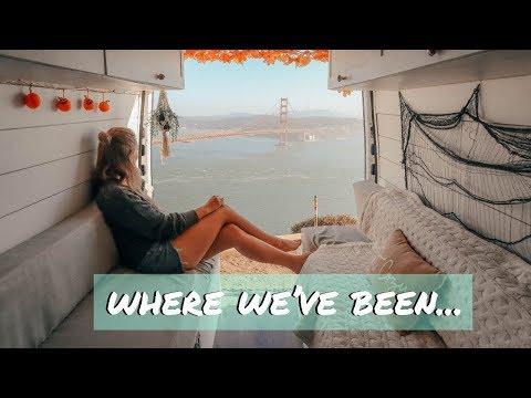 VAN BUILD SERIES (episode 6) / updates + shower plumbing in a van | Where We've Been