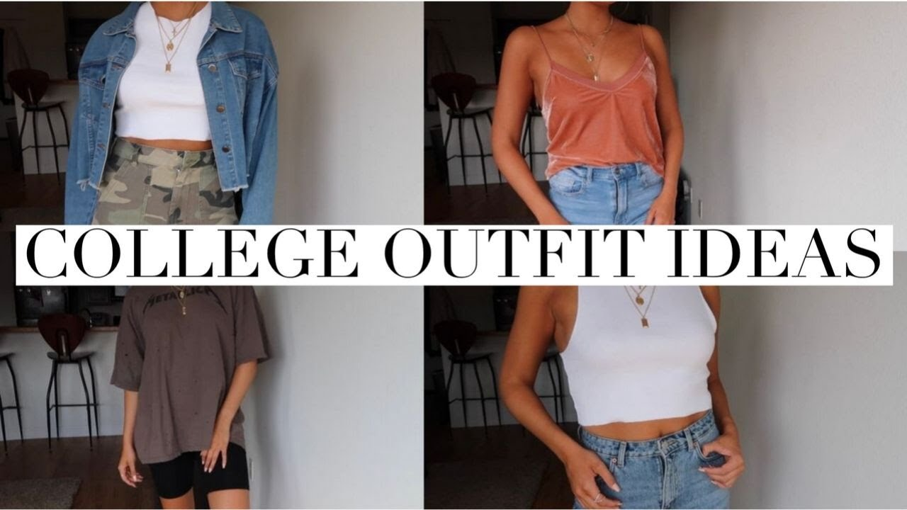 [VIDEO] - COLLEGE OUTFIT IDEAS | Gabriella Mazza 2