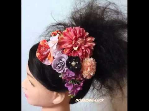 【和装髪飾り】結婚式・成人式・卒業式の髪飾り
