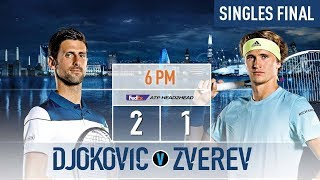 Djokovic Faces Zverev For 2018 Nitto ATP Finals Title