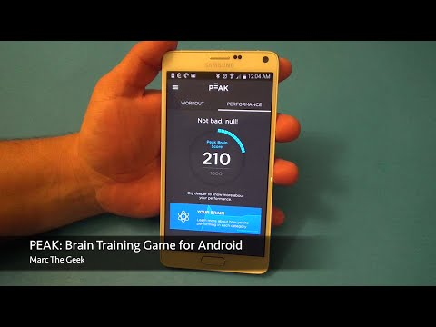 PEAK: Brain Training for Android