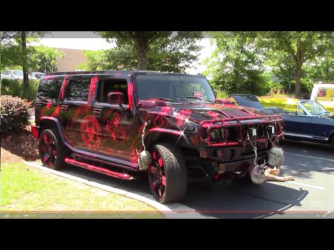 ZOMBIE OUTBREAK H2 HUMMER - YouTube