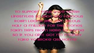 Fergie  Glamorous ft. Ludacris (lyrics)