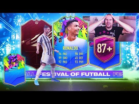 JE PACK CR7 99 ! ON FINIT FIFA 21 EN BEAUTE !