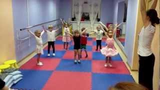 Открытый урок хореографии в Детском Мюзик-Холле