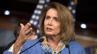 Is Nancy Pelosi scaring people into supporting her?