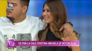 Teo Show - Cristina Mihaela si Victor Slav, talent in bucatarie! Cat de compatibili sunt?