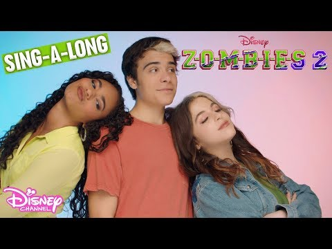 Call To The Wild Sing-A-Long 🎤 | ZOMBIES 2 | Disney Channel UK
