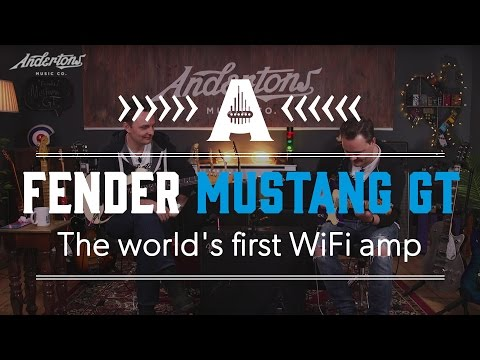Fender Mustang GT Amps - Exclusive First Look!