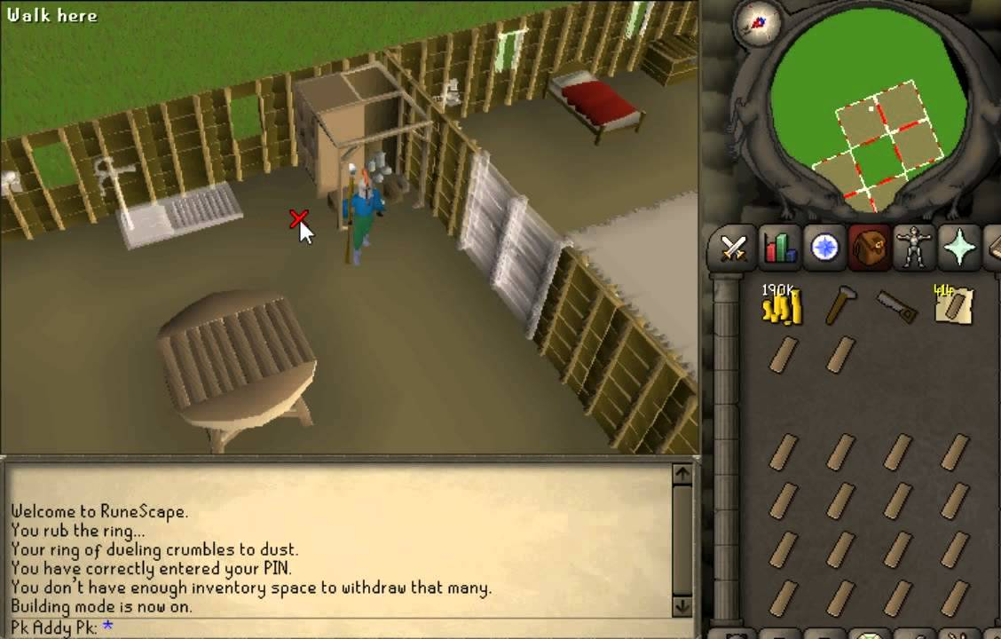 Runescape 2007 Fastest Way To Use Butler Guide Must See