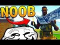 DISGUISING MYSELF AS A NOOB?! TROLLING In Fortnite Battle Royale!!