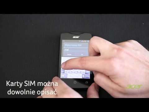 Jak skonfigurować Dual SIM w smarftonie Acer Liquid? - Acer Liquid Z3
